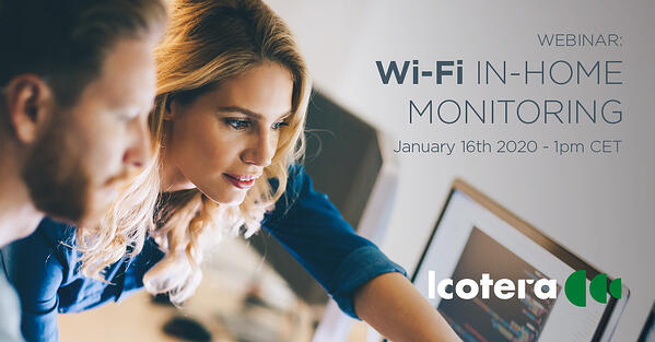 Wi-Fi in-home monitoring